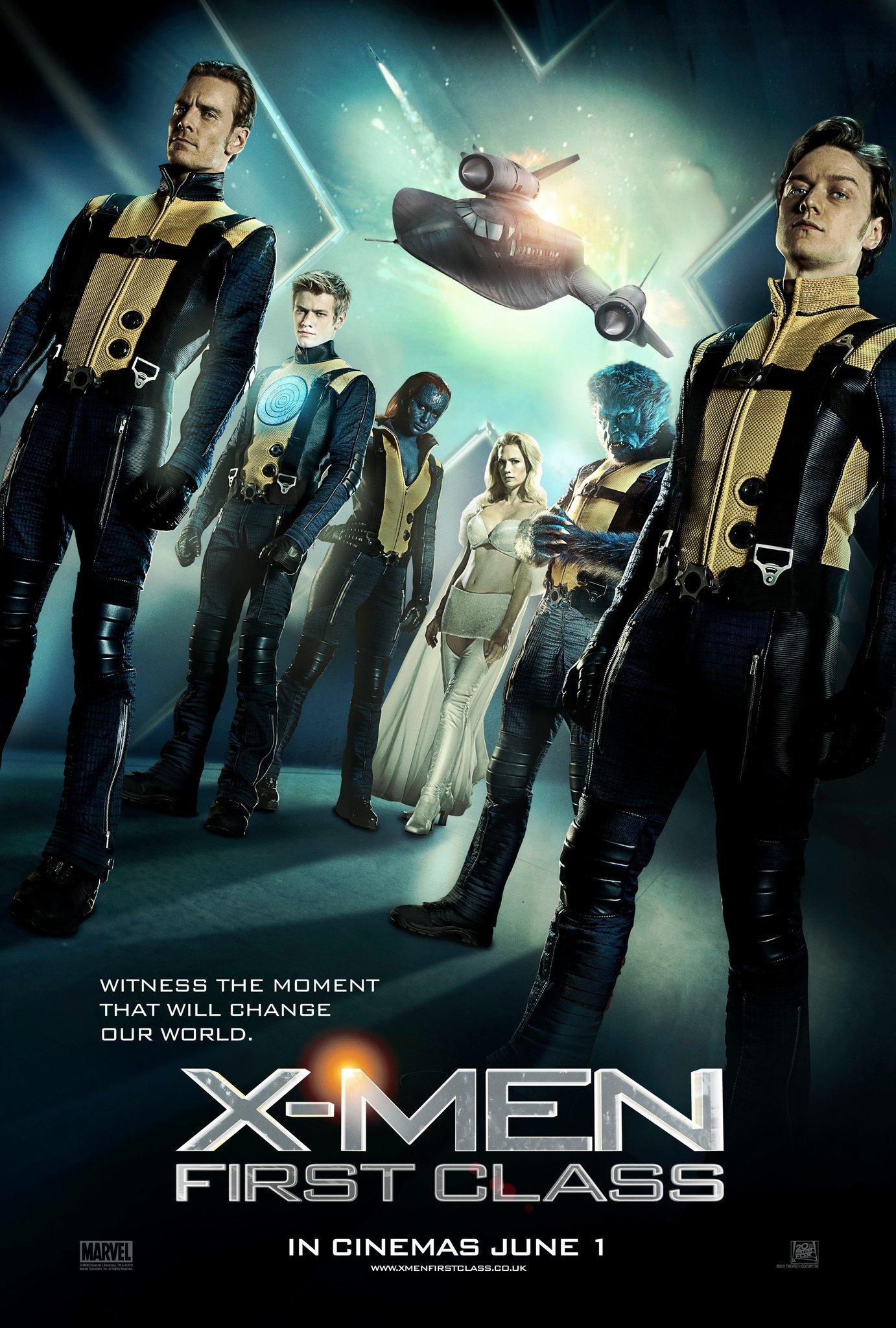Люди Икс: Первый класс, постер № 21