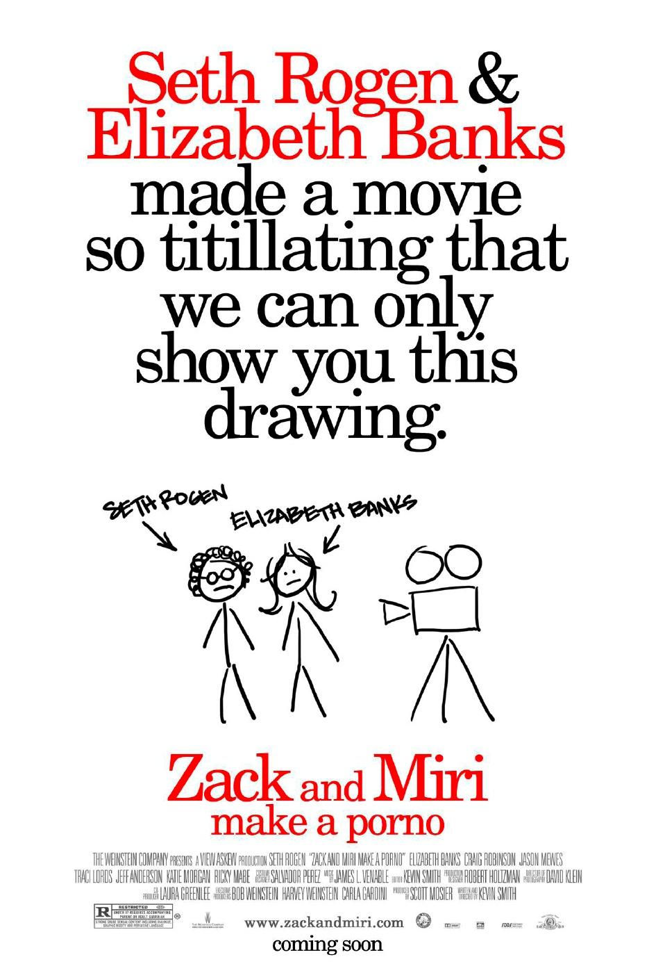 Зак и Мири снимают порно, постер № 2