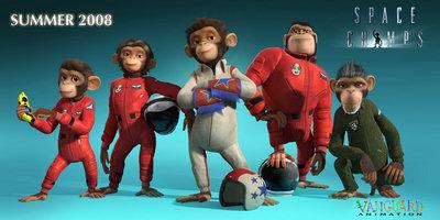 «Космические обезьянки»(Space Chimps)