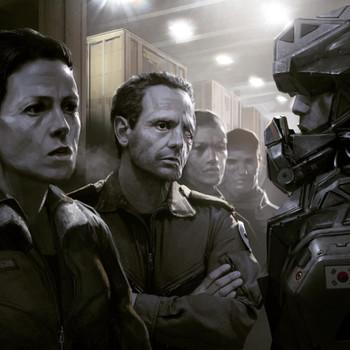Промо-арт фильма «Чужой 5»