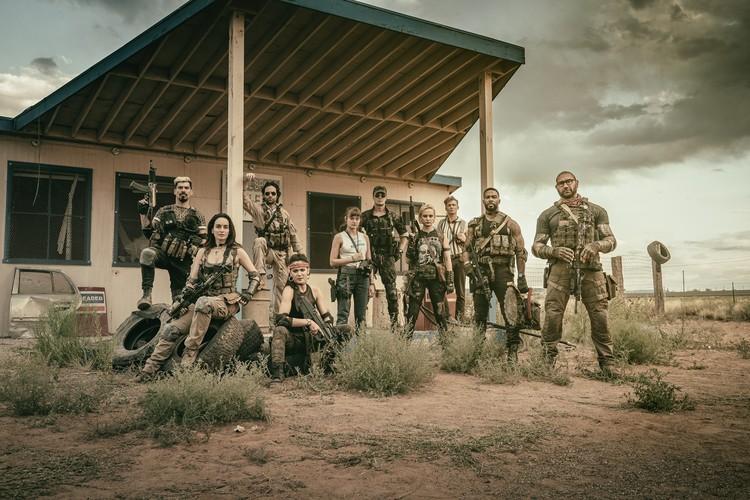 Промо-арт фильма «Армия мертвецов»