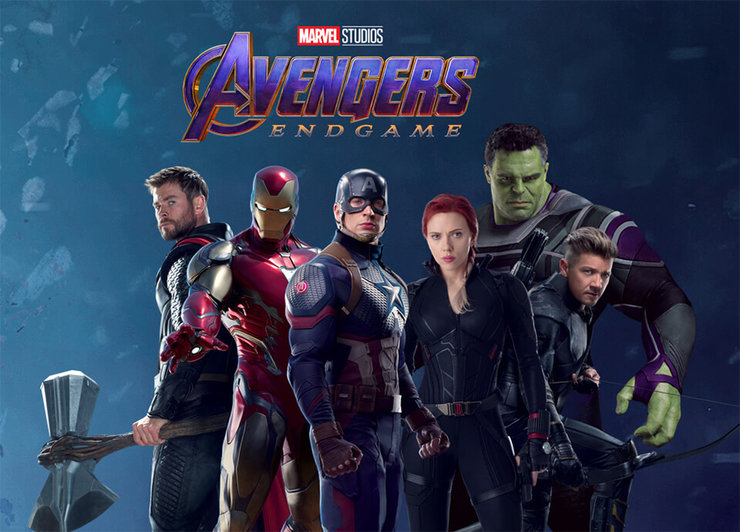 Промо-арт фильма «Мстители: Финал»