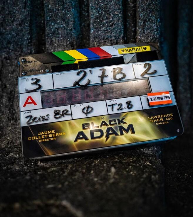 Промо-арт фильма «Чёрный Адам»