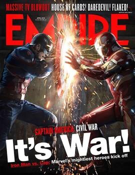 Промо-арт фильма «Первый мститель: Противостояние»