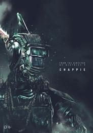 Промо-арт фильма «Робот по имени Чаппи»