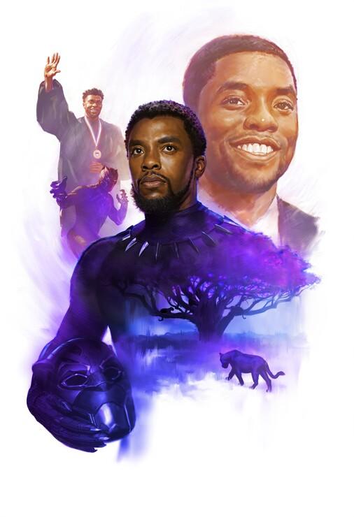 Промо-арт фильма «Чёрная Пантера»