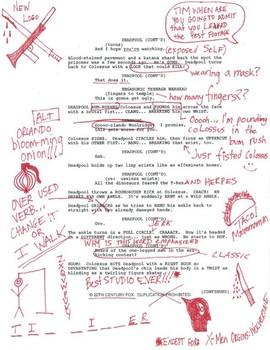Промо-арт фильма «Дэдпул»