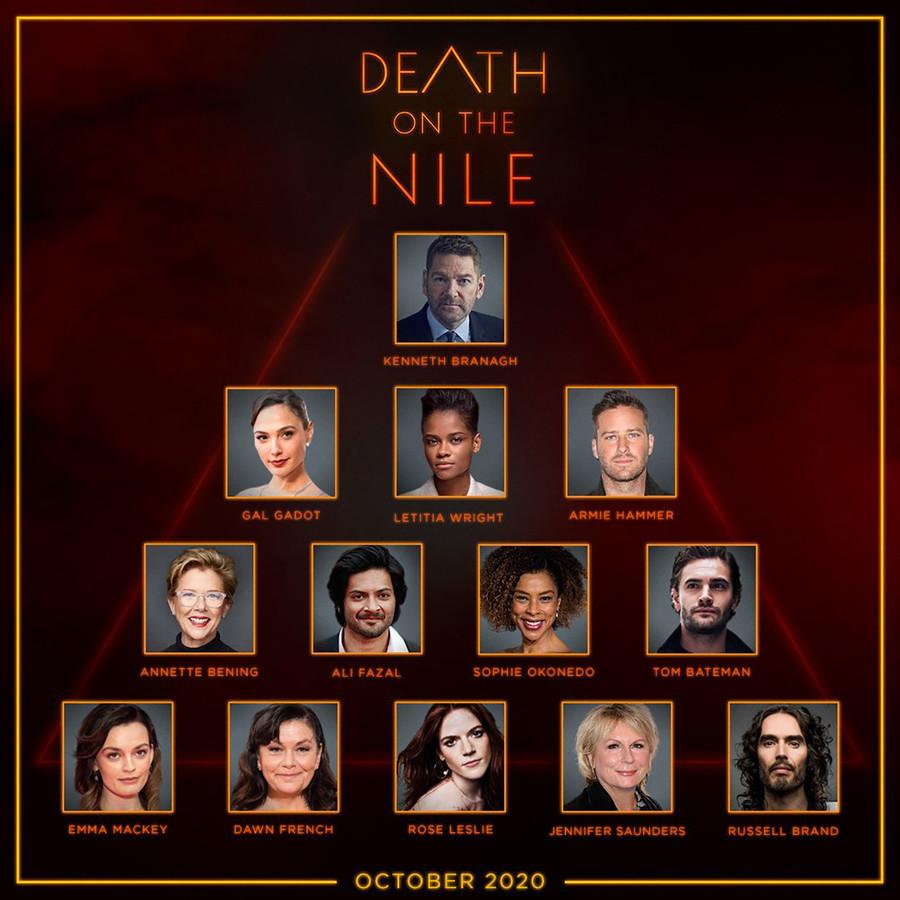 Промо-арт фильма «Смерть на Ниле»