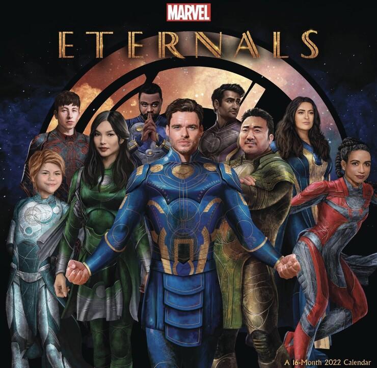 Промо-арт фильма «Вечные»