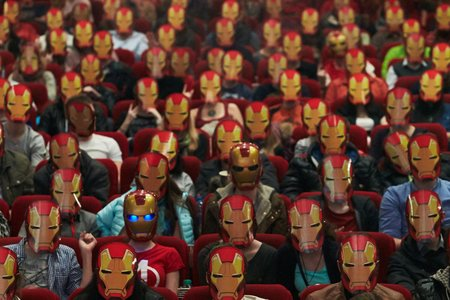 Промо-арт фильма «Железный человек 3»