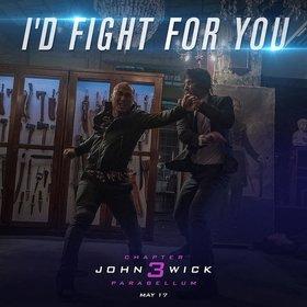 Промо-арт фильма «Джон Уик 3»