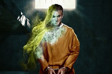 Промо-арт фильма «Тёмная Лига Справедливости»