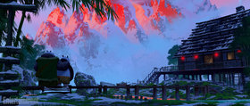 Промо-арт фильма «Кунг-фу Панда 3»
