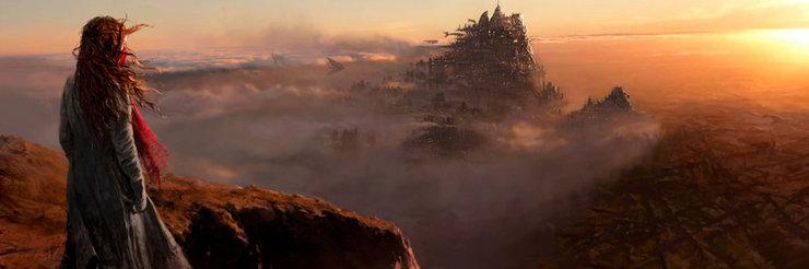 Промо-арт фильма «Хроники хищных городов»