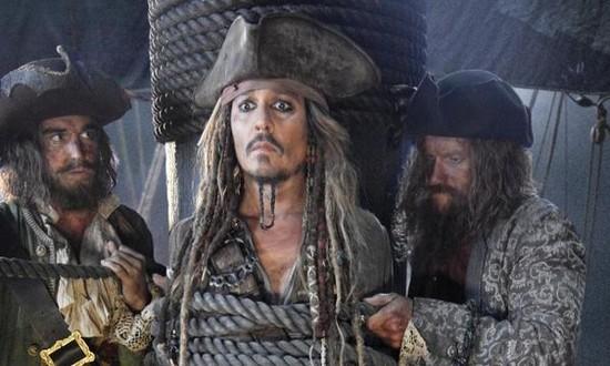 Промо-арт фильма «Пираты Карибского моря: Мертвецы не рассказывают сказки»