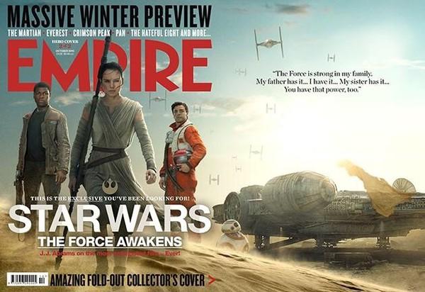 Промо-арт фильма «Звёздные войны: Пробуждение Силы»