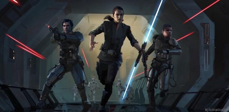 Промо-арт фильма «Звёздные Войны: Скайуокер. Восход»