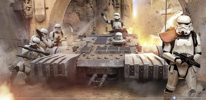 Промо-арт фильма «Изгой-один. Звёздные войны: Истории»
