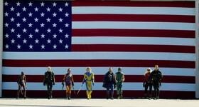 Промо-арт фильма «Отряд самоубийц: Миссия навылет»