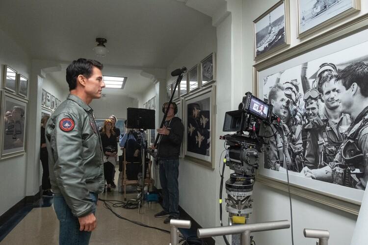 Промо-арт фильма «Топ Ган: Мэверик»