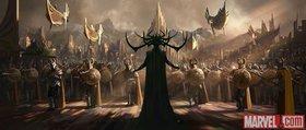 Промо-арт фильма «Тор: Рагнарёк»