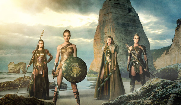 Промо-арт фильма «Чудо-женщина»
