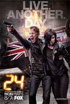Постеры сериала «24 часа: Проживи ещё день»