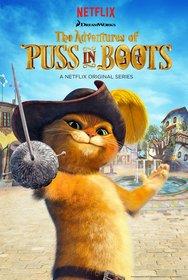 Постеры сериала «Приключения Кота в сапогах»