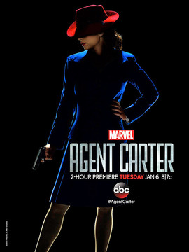 Постеры сериала «Агент Картер»