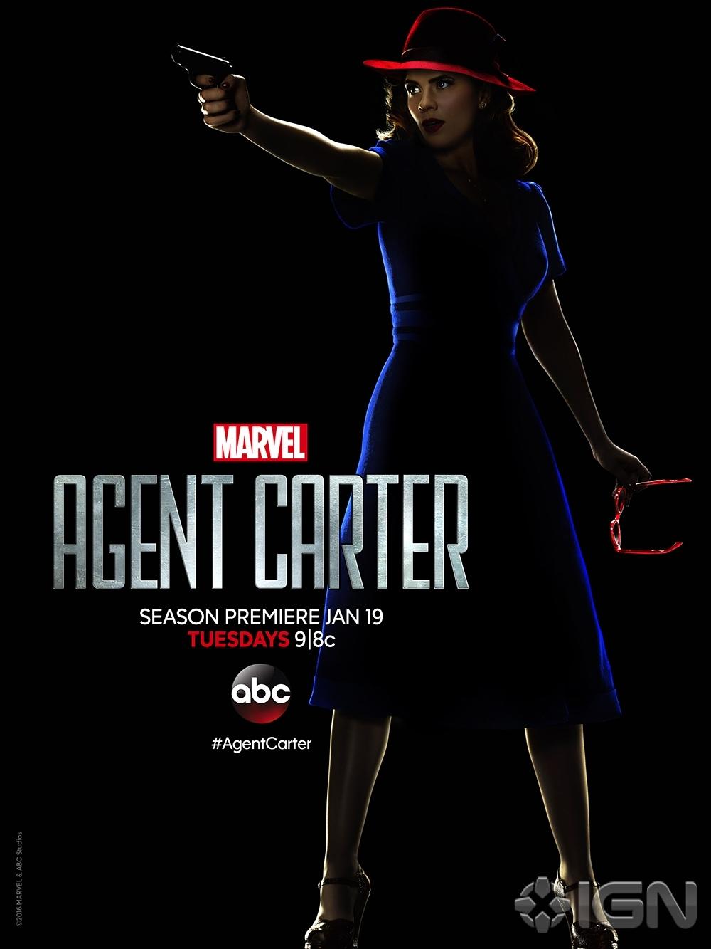 Агент Картер, постер № 8