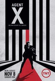 Постеры сериала «Агент Икс»