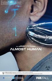 Постеры сериала «Почти человек»