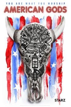 Постеры сериала «Американские боги»