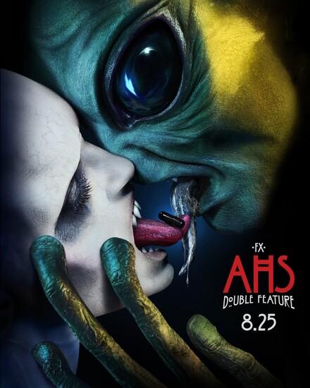 Постеры сериала «Американская история ужасов»
