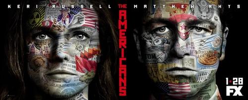 Постеры сериала «Американцы»