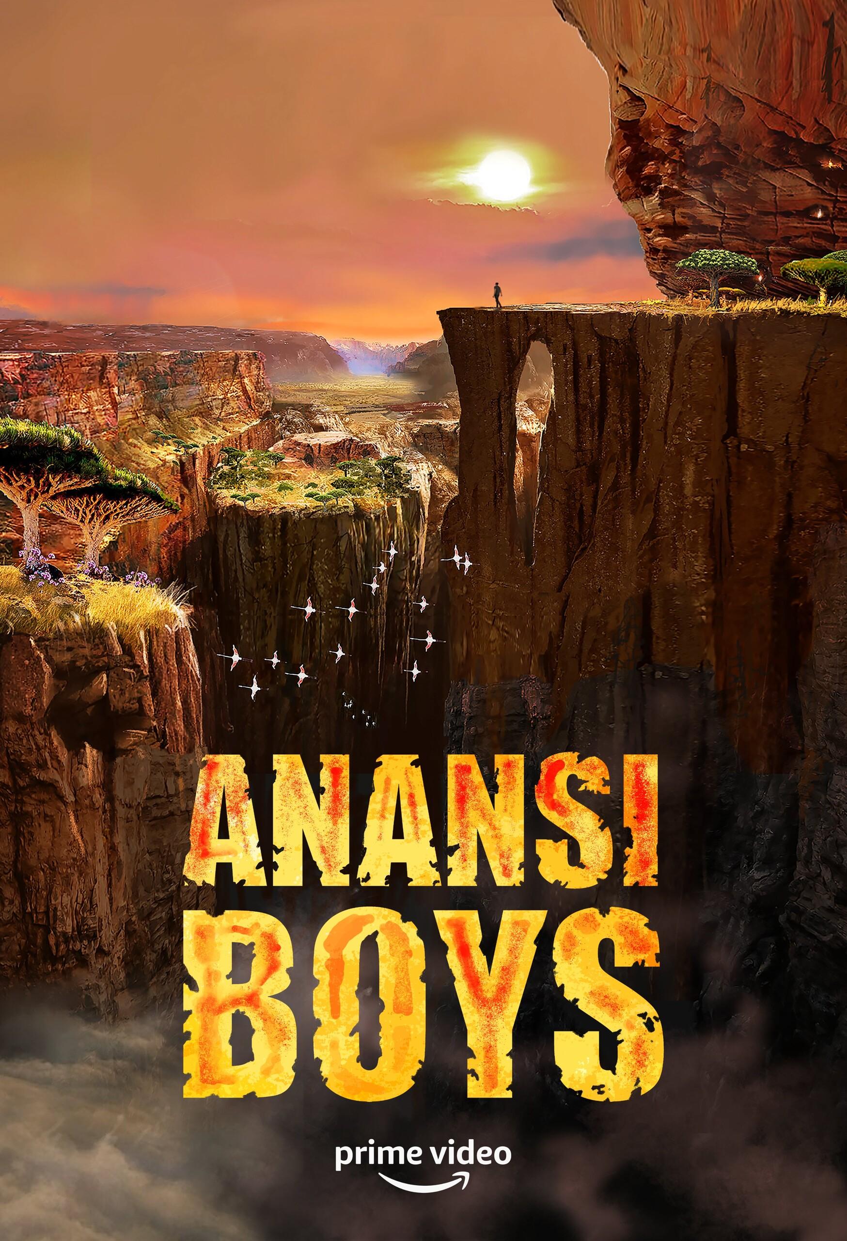 Сыновья Ананси, постер № 1