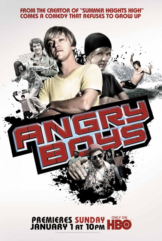 Angry Boys Extra Large Movie Poster Image - Internet Movie Poster