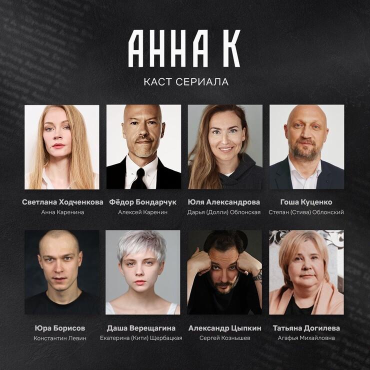 Промо-арт сериала «Анна К»