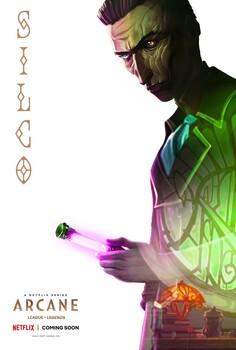 Постеры сериала «Аркейн»
