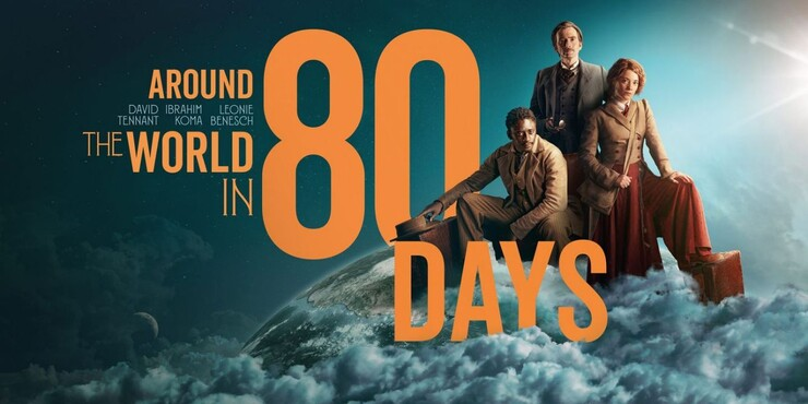 Промо-арт сериала «Вокруг света за 80 дней»