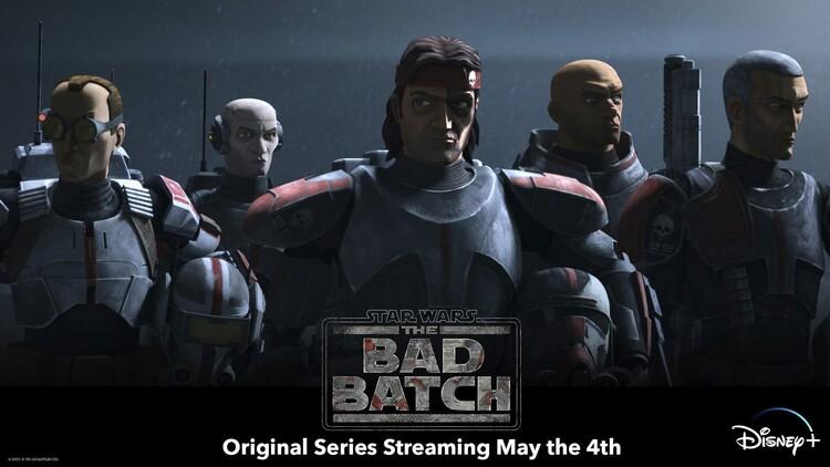Постеры сериала «Звёздные войны: Бракованная партия»