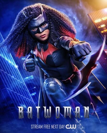 Постеры сериала «Бэтвумен»