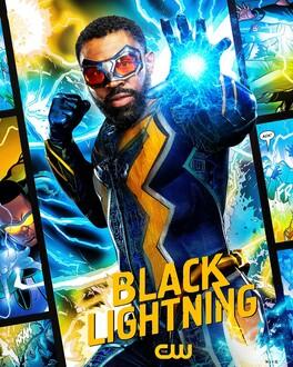 Постеры сериала «Чёрная молния»