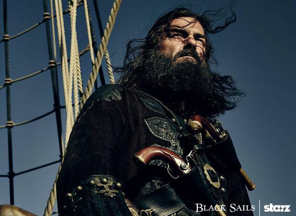 Промо-арт сериала «Чёрные паруса»