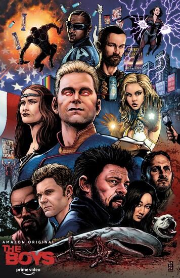 Постеры сериала «Пацаны»