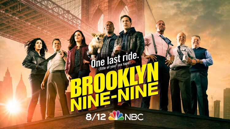 Постеры сериала «Бруклин 9-9»