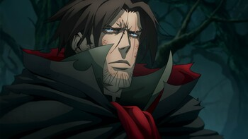 Кадры из сериала «Castlevania»