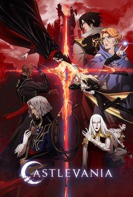 Постеры сериала «Castlevania»
