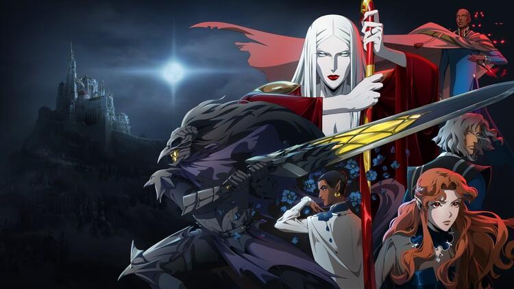 Промо-арт сериала «Castlevania»