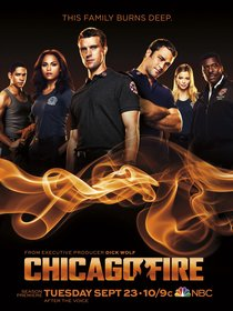 Постеры сериала «Пожарные Чикаго»